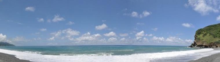 花蓮牛山海灘全景1